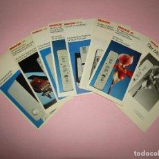 Cámara de fotos: ANTIGUO LOTE DE CATÁLOGOS PUBLICITARIOS DE CÁMARAS FOTOGRÁFICAS MINOX - AÑOS 1970S.. Lote 268031984