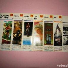 Cámara de fotos: ANTIGUO LOTE DE 7 CATÁLOGOS DESPLEGABLES PUBLICIDAD DE PELÍCULAS PROFESIONALES DE KODAK - AÑOS 1970S. Lote 268032474