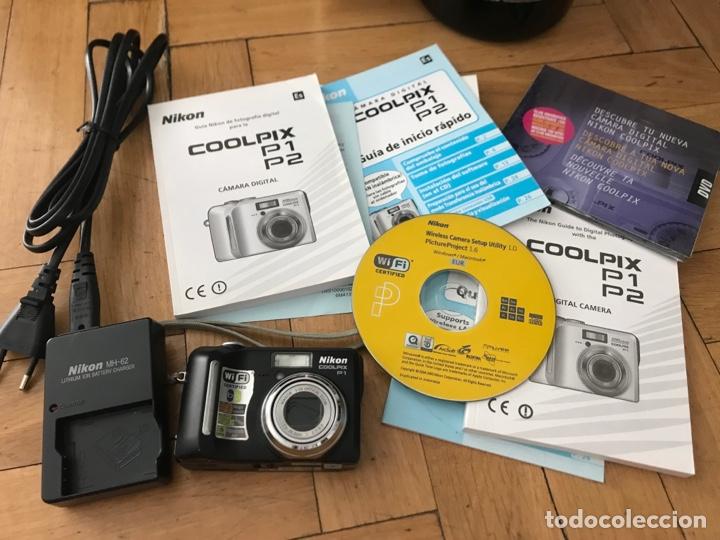 Cámara de fotos: Camara Nikon Coolpix P1 muy buen estado - Foto 5 - 268460109