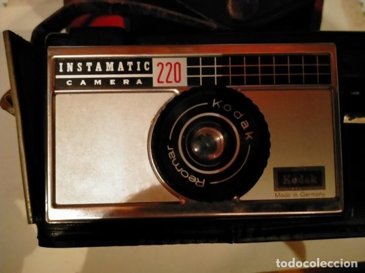 Cámara de fotos: CÁMARA FOTOS INSTAMATIC 220 KODAK - Foto 2 - 268895224
