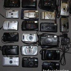 Cámara de fotos: LOTE DE 21 CAMARAS FOTOGRAFICAS DE 35 MM PARA COLECCIÓN O PIEZAS DE REPUESTO. Lote 269007089
