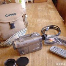 Câmaras de fotos: VIDEOCÁMARA DIGITAL CANON MVX 350I. EN SU BOLSA ORIGINAL. EXCELENTE CONSERVACIÓN.. Lote 264063470
