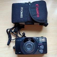 Appareil photos: CAMARA FOTOGRAFICA.CANON.PRIMA ZOOM 85.DE CARRETE.ANTIGUA.FUNDA CANON.38-55 MM. Lote 271941173