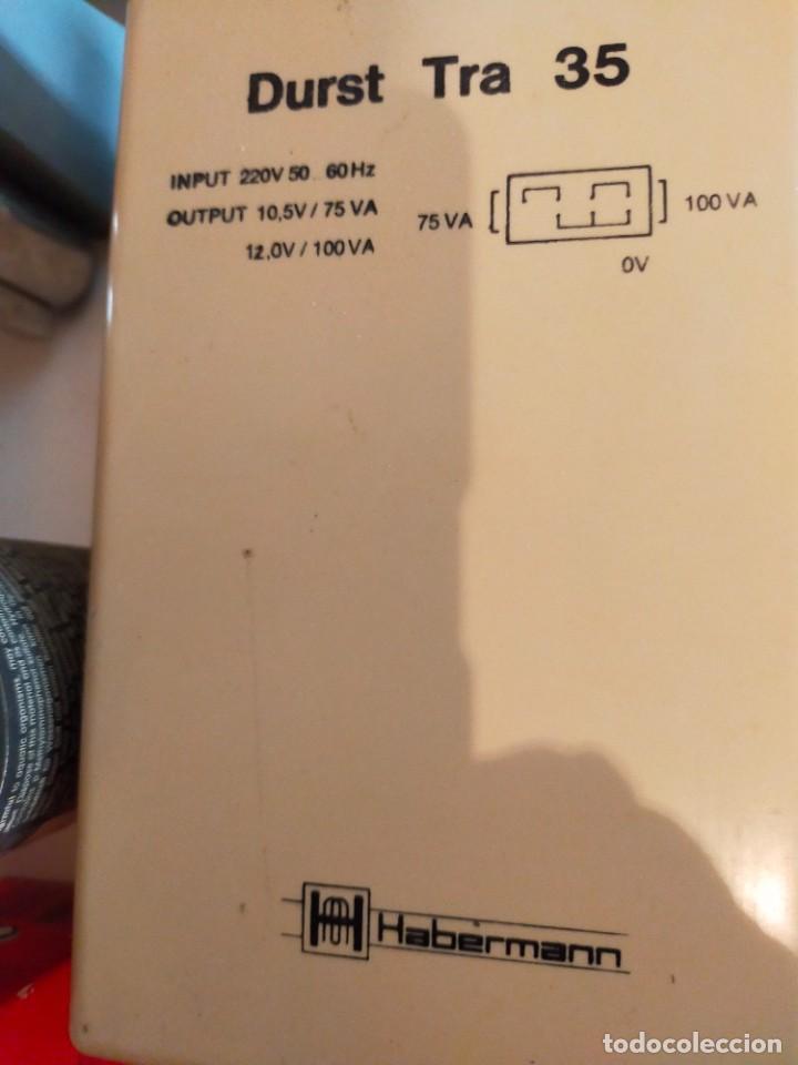 Cámara de fotos: ampliadora fotografica DURST modelo NEVONEG, es para negativos de 24 X 36 MM. color y B/N - Foto 3 - 26912648