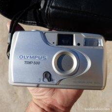 Cámara de fotos: ANTIGUA CAMARA DE FOTOS JAPONESA , OLYMPUS TRIP 500 , AÑOS 90. Lote 276075233