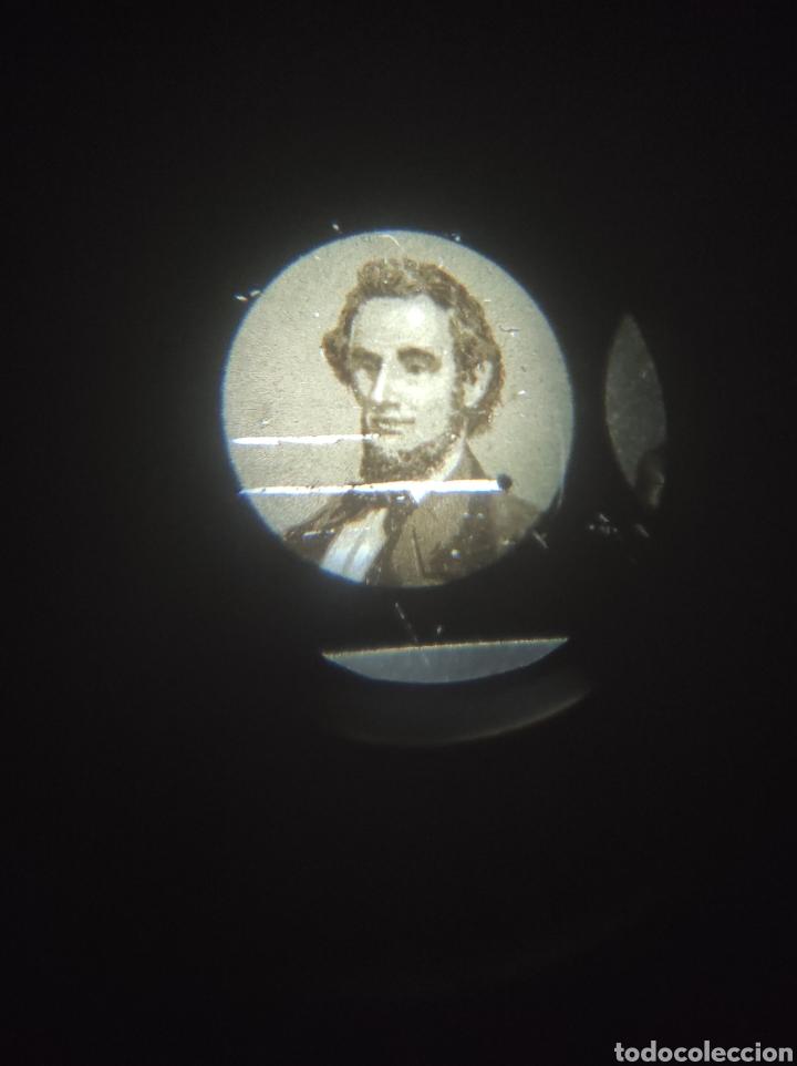 Cámara de fotos: Gran lote de linterna mágica GBN con 39 cristales. Circa 1890 - Foto 9 - 276169413