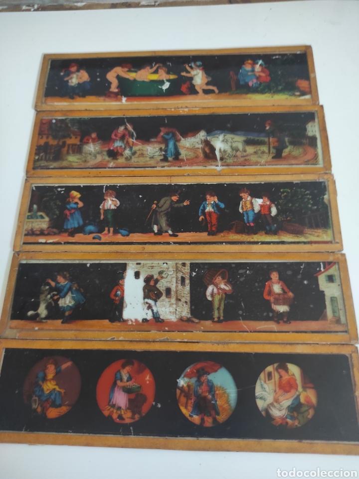 Cámara de fotos: Gran lote de linterna mágica GBN con 39 cristales. Circa 1890 - Foto 11 - 276169413