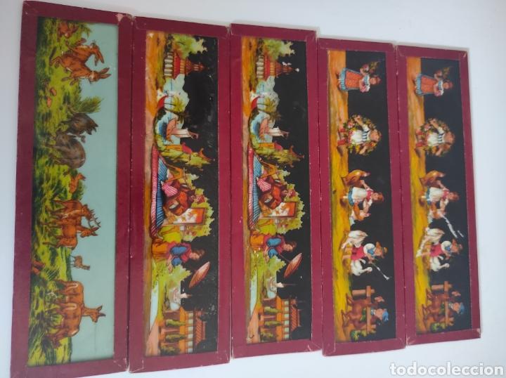 Cámara de fotos: Gran lote de linterna mágica GBN con 39 cristales. Circa 1890 - Foto 14 - 276169413