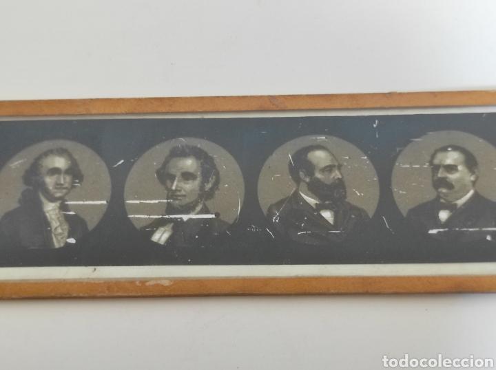 Cámara de fotos: Gran lote de linterna mágica GBN con 39 cristales. Circa 1890 - Foto 17 - 276169413