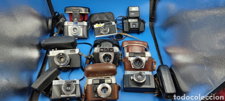 LOTE CÁMARAS FOTOGRAFÍAS VOIGTLANDER KODAK (Cámaras Fotográficas - Otras)