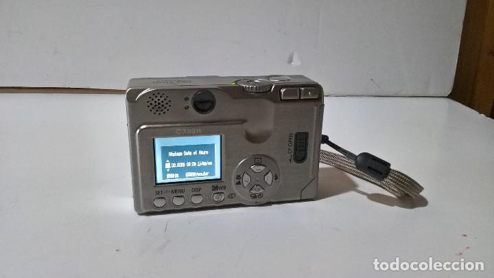 Cámara de fotos: Canon Digital Ixus 330. En su caja. Con funda. Perfecto estado. FUNCIONA. - Foto 4 - 276945203