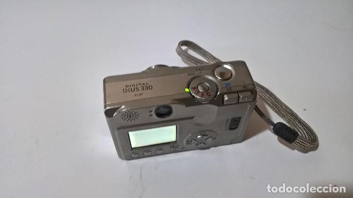 Cámara de fotos: Canon Digital Ixus 330. En su caja. Con funda. Perfecto estado. FUNCIONA. - Foto 5 - 276945203