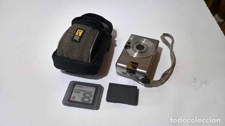 Cámara de fotos: Canon Digital Ixus 330. En su caja. Con funda. Perfecto estado. FUNCIONA. - Foto 6 - 276945203