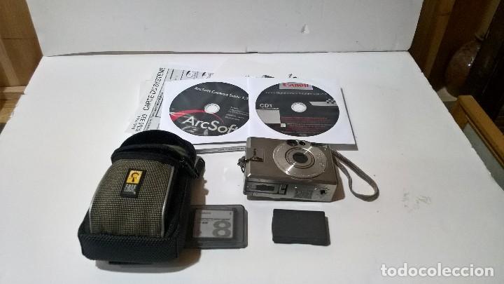 Cámara de fotos: Canon Digital Ixus 330. En su caja. Con funda. Perfecto estado. FUNCIONA. - Foto 8 - 276945203