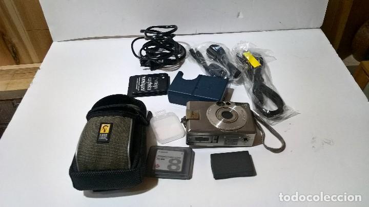 Cámara de fotos: Canon Digital Ixus 330. En su caja. Con funda. Perfecto estado. FUNCIONA. - Foto 9 - 276945203