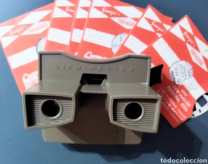Cámara de fotos: Visor Viewmaster + 6 discos - Foto 9 - 277091023