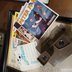 Cámara de fotos: VISOR VIEW-MASTER ,CON 15 (RUEDAS) DE DIAPOSITIVAS. Lote 278680483