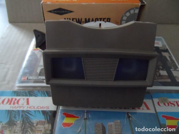 VISOR ESTEREOSCOPIO 3D - CON 16 DISCOS DE DIAPOSITIVAS (Cámaras Fotográficas - Visores Estereoscópicos)