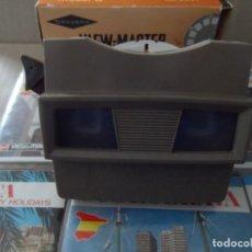 Cámara de fotos: VISOR ESTEREOSCOPIO 3D - CON 16 DISCOS DE DIAPOSITIVAS. Lote 286925678