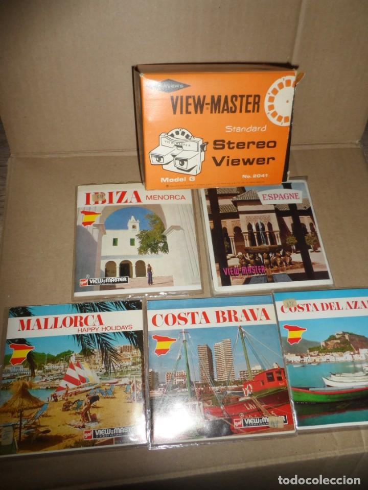 Cámara de fotos: VISOR ESTEREOSCOPIO 3D - CON 16 DISCOS DE DIAPOSITIVAS - Foto 2 - 286925678