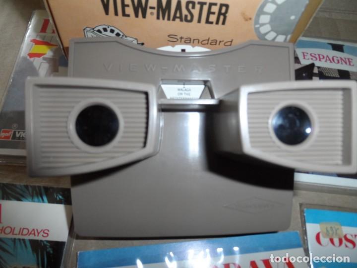 Cámara de fotos: VISOR ESTEREOSCOPIO 3D - CON 16 DISCOS DE DIAPOSITIVAS - Foto 3 - 286925678