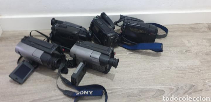 Cámara de fotos: Lote de 5 cámaras video 8 - Foto 2 - 287786513
