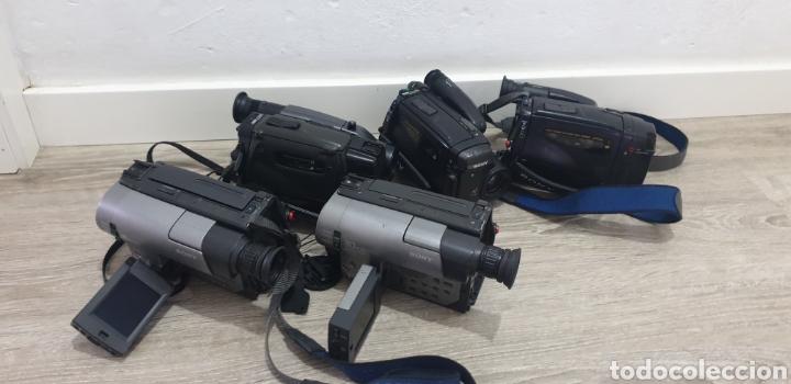 Cámara de fotos: Lote de 5 cámaras video 8 - Foto 5 - 287786513