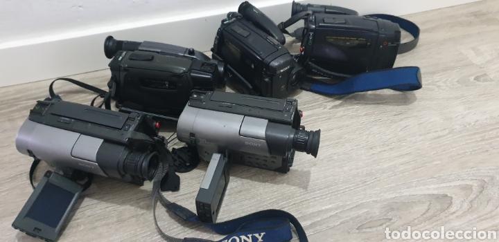 Cámara de fotos: Lote de 5 cámaras video 8 - Foto 7 - 287786513