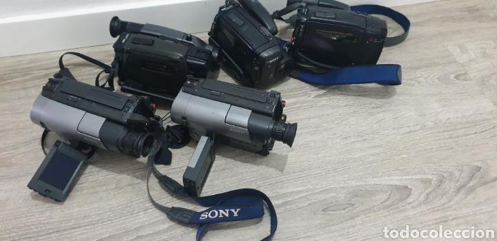 Cámara de fotos: Lote de 5 cámaras video 8 - Foto 8 - 287786513