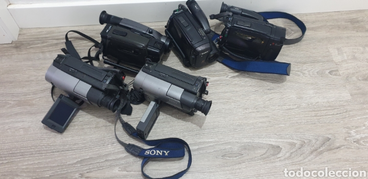 Cámara de fotos: Lote de 5 cámaras video 8 - Foto 10 - 287786513