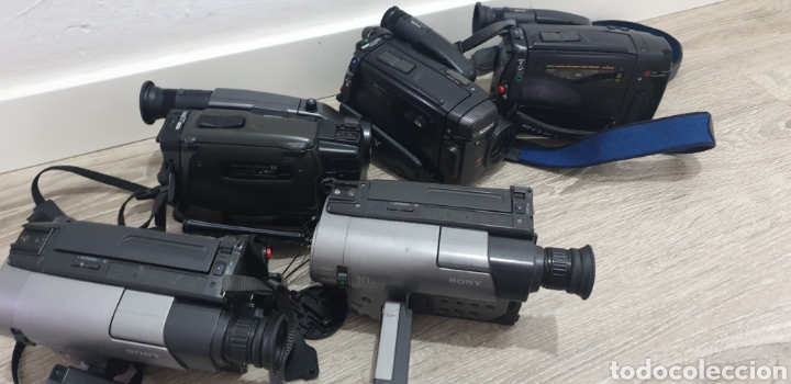 Cámara de fotos: Lote de 5 cámaras video 8 - Foto 13 - 287786513