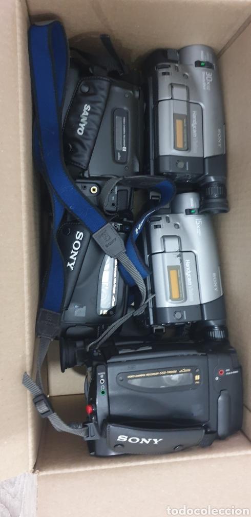 Cámara de fotos: Lote de 5 cámaras video 8 - Foto 14 - 287786513