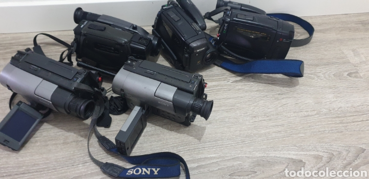 Cámara de fotos: Lote de 5 cámaras video 8 - Foto 15 - 287786513