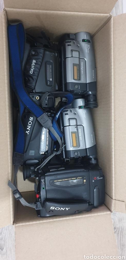 Cámara de fotos: Lote de 5 cámaras video 8 - Foto 17 - 287786513