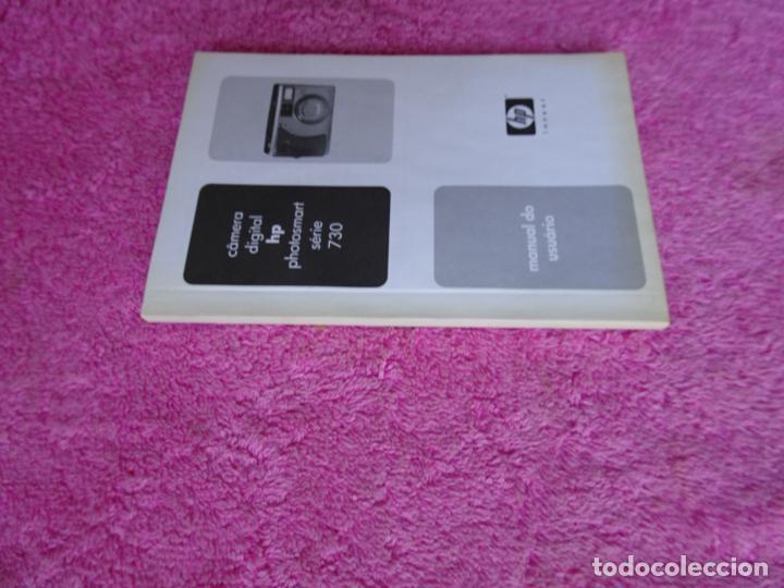 Cámara de fotos: manual do usuário cámera digital HP Photosmart serie 730 año 2003 - Foto 4 - 288418498