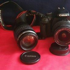 Cámara de fotos: CAMARA CANON EOS 550 D CON OTRO OBJETIVO ZOOM. Lote 288958508