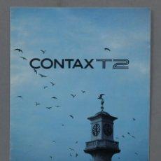 Cámara de fotos: MANUAL. CONTAX T2. Lote 288998923