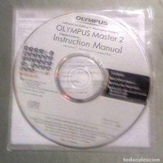 Cámara de fotos: CD. OLYMPUS MASTER 2. SOFTWARE PARA EDITAR, INSTRUCCIONES Y GUÍA INSTALACIÓN. [NUEVO - SIN ABRIR]. Lote 293316268