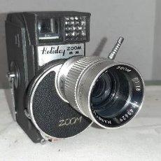 Cámara de fotos: TOMAVISTAS 8 MM HOLIDAY ZOOM MM. Lote 295365183