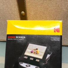 Cámara de fotos: KODAK DIGITAL SCANZA - ESCÁNER DE PELÍCULAS NEGATIVAS. Lote 295649938