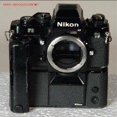 Cámara de fotos: NIKON F3 HP + MOTOR MD-4 SUPERGANGA. Lote 24337282