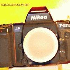 Cámara de fotos: NIKON 801 S CON RESPALDO MF 20 EXCELENTE . Lote 27277977
