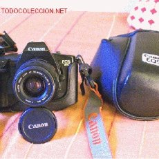 Cámara de fotos: CANON EOS 650 CON ZOOM CANON AF 35-80 Y FUNDA CANON NUEVA ORIGINAL. Lote 26643836