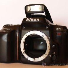 Cámara de fotos: NIKON F50 / (CUERPO) REFLEX AUTOFOCUS / EXCELENTE ESTADO. Lote 26733976