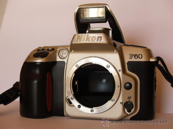 NIKON F60 / (CUERPO) REFLEX AUTOFOCUS / EXCELENTE ESTADO (Cámaras Fotográficas - Réflex (autofoco))