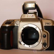 Cámara de fotos: NIKON F60 / (CUERPO) REFLEX AUTOFOCUS / EXCELENTE ESTADO. Lote 26733977