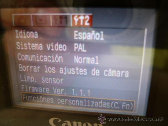 Cámara de fotos: CANON EOS 300D REPROGRAMADA COMO CANON EOS 10D - Foto 2 - 17668288