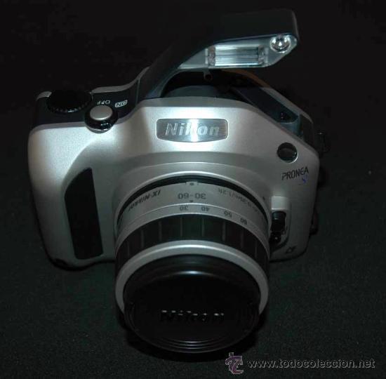 NIKON PRONEA S APS WITH LENS IX-NIKKOR 30MM-60MM 1:4-5,6. (Cámaras Fotográficas - Réflex (autofoco))