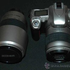 Cámara de fotos: NIKON KIT PRO ADVANCE F75 + 2 LENS.. Lote 14151468