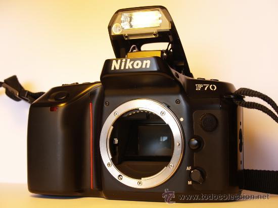 NIKON F70 - (CUERPO) REFLEX AUTOFOCUS - QUARTZ DATE PANORAMA - EXCELENTE ESTADO Y FUNCIONANDO (Cámaras Fotográficas - Réflex (autofoco))